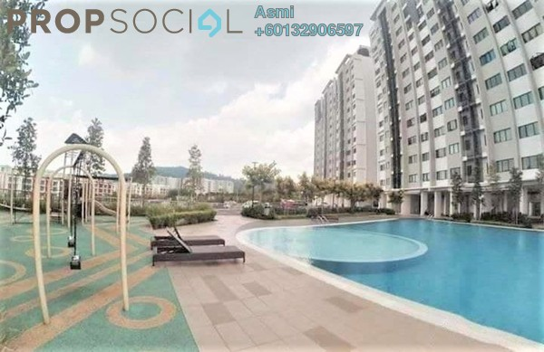 Apartment For Sale in Seri Baiduri, Setia Alam Freehold Semi Furnished 3R/2B 410k