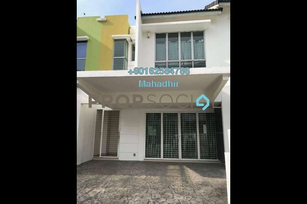 Terrace For Sale in The Oasis, Cheras South Freehold Semi Furnished 5R/4B 990k