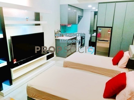 Condominium For Sale in Expressionz Professional Suites, Titiwangsa Freehold Fully Furnished 2R/2B 830k