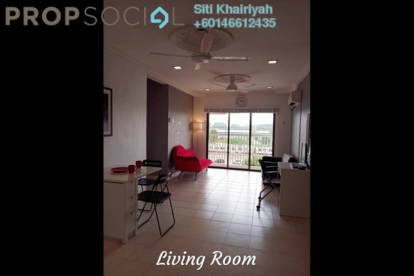 Apartment For Sale in Section 19, Shah Alam Freehold Unfurnished 3R/2B 358k