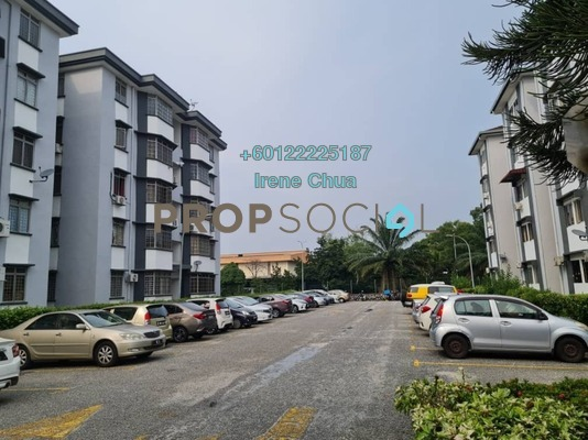 Apartment For Sale in Goodyear Court 6, UEP Subang Jaya Freehold Unfurnished 3R/2B 300k