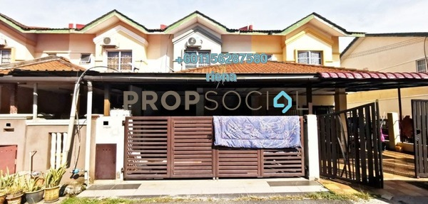 Terrace For Sale in Bandar Putera Klang, Klang Freehold Semi Furnished 4R/3B 425k
