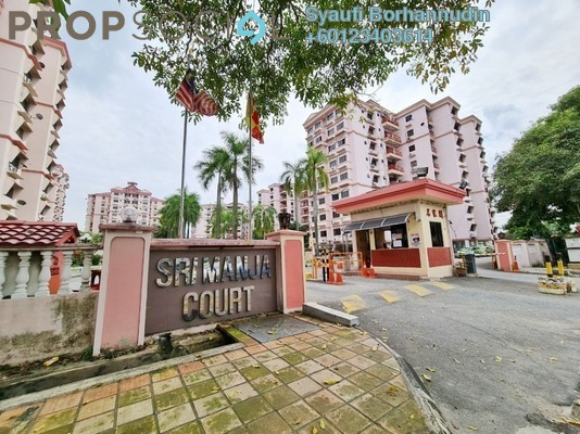 Apartment For Sale in Sri Manja Court, PJ South Freehold Unfurnished 3R/2B 335k