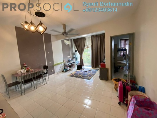 Apartment For Sale in Baiduri Apartment, Shah Alam Freehold Unfurnished 3R/2B 315k