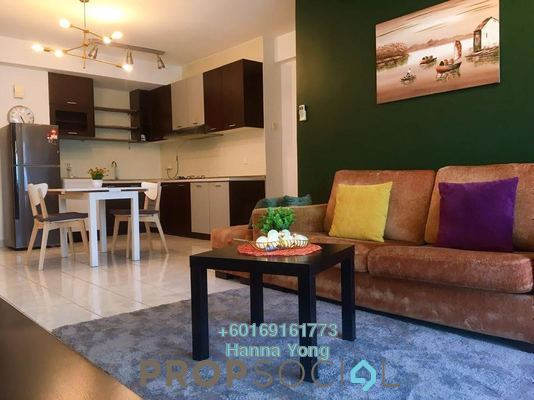 Condominium For Rent in Riana Green, Tropicana Freehold Fully Furnished 1R/1B 1.7k
