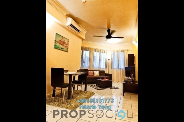 Condominium For Rent in Riana Green, Tropicana Freehold Fully Furnished 2R/1B 1.7k