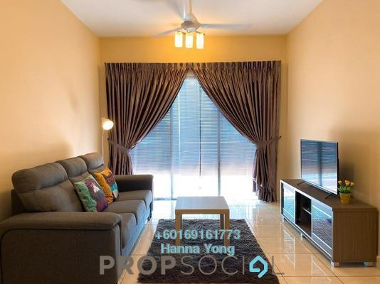 Condominium For Rent in Casa Indah 1, Tropicana Freehold Fully Furnished 2R/2B 2.1k