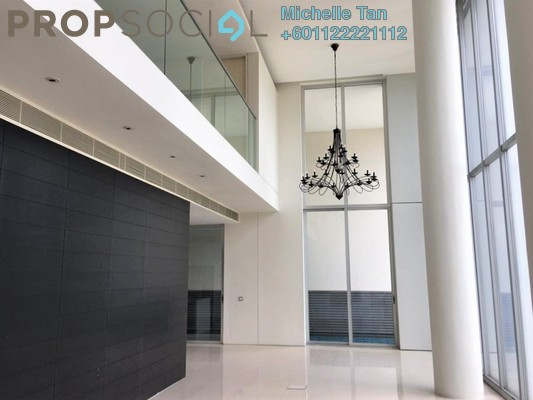 Duplex For Rent in One KL, KLCC Freehold Semi Furnished 3R/3B 13k