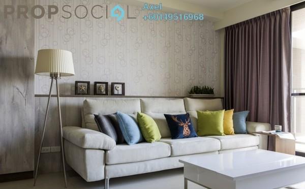 Condominium For Sale in Solaris Dutamas, Dutamas Freehold Semi Furnished 3R/3B 599k