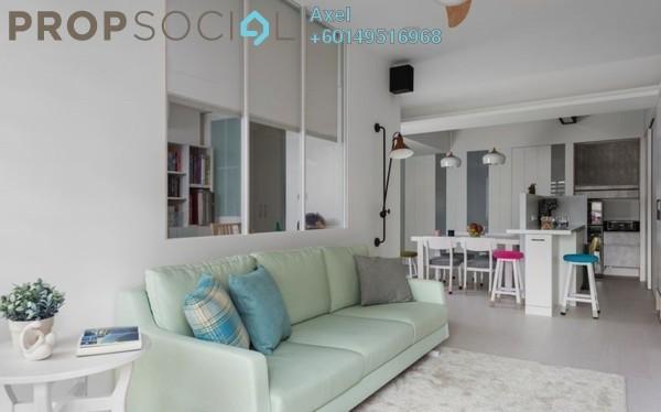 Condominium For Sale in Taman City, Jalan Kuching Freehold Semi Furnished 3R/2B 600k