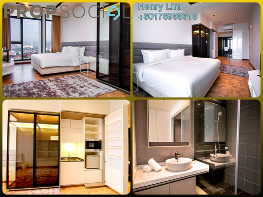 SoHo/Studio For Rent in Expressionz Professional Suites, Titiwangsa Freehold Fully Furnished 0R/1B 1.1k