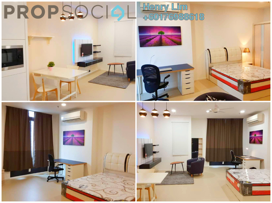 SoHo/Studio For Sale in Arcoris, Mont Kiara Freehold Fully Furnished 0R/1B 580k