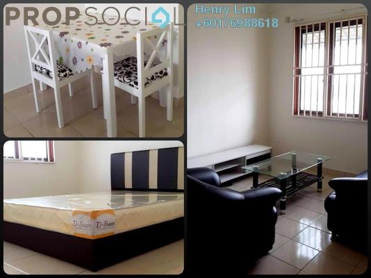 Apartment For Rent in Pangsapuri Berembang Indah, Keramat Freehold Fully Furnished 3R/2B 1.1k