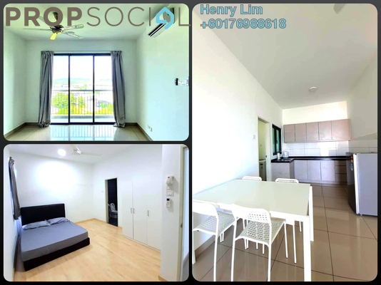 Condominium For Sale in Parkhill Residence, Bukit Jalil Freehold Fully Furnished 3R/2B 600k