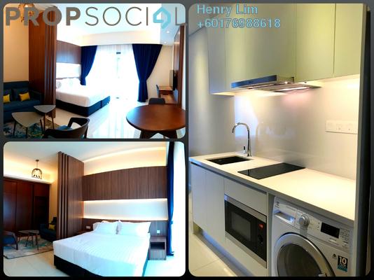 SoHo/Studio For Rent in Tribeca, Bukit Bintang Freehold Fully Furnished 0R/1B 2.1k