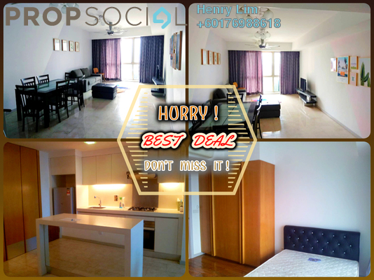 Serviced Residence For Rent in myHabitat, KLCC Freehold Fully Furnished 2R/1B 2.3k