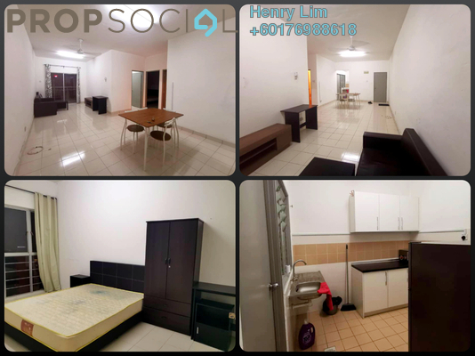 Condominium For Rent in Residensi Laguna, Bandar Sunway Freehold Fully Furnished 3R/2B 1.7k