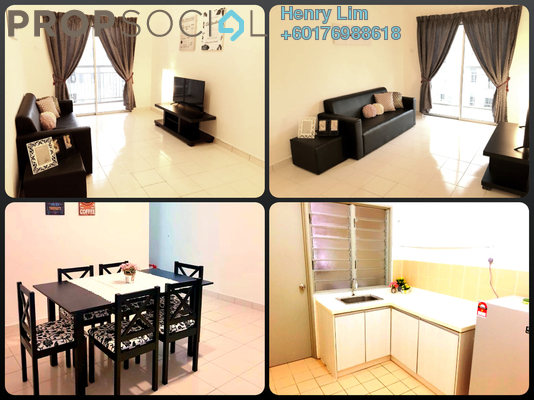Serviced Residence For Rent in Residensi Laguna, Bandar Sunway Freehold Fully Furnished 3R/2B 1.65k