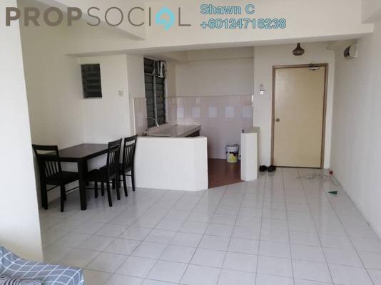 Condominium For Sale in Rhythm Avenue, UEP Subang Jaya Freehold Fully Furnished 2R/1B 297k