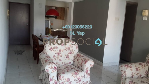 Apartment For Rent in Arena Green, Bukit Jalil Freehold Fully Furnished 3R/2B 1.2k