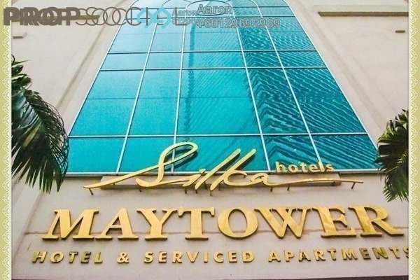 Condominium For Sale in Maytower, Dang Wangi Freehold Fully Furnished 1R/1B 405k