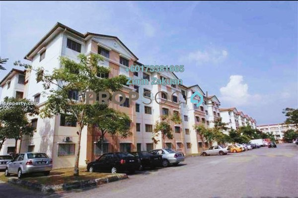 Apartment For Sale in Seroja Apartment, Bukit Jelutong Freehold Unfurnished 3R/2B 320k