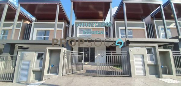 Terrace For Sale in Serene Heights, Bangi Freehold Unfurnished 4R/3B 670k