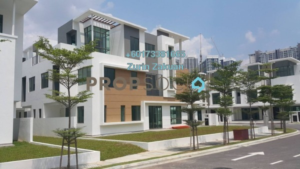 Terrace For Sale in Lake Point Residence, Cyberjaya Freehold Unfurnished 6R/5B 1.6m