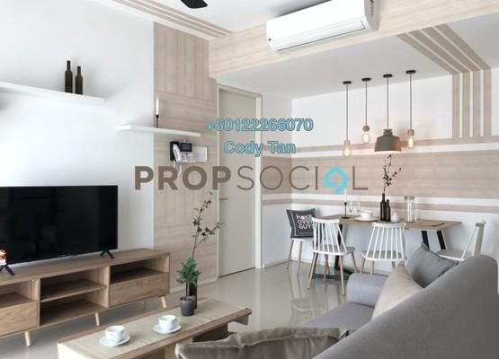 Condominium For Rent in Verdi Eco-dominiums, Cyberjaya Freehold Fully Furnished 1R/1B 1.2k