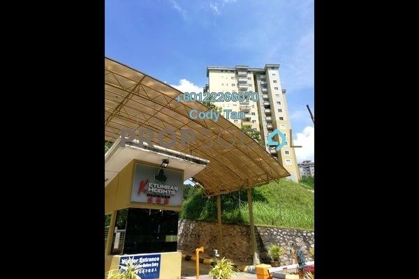 Condominium For Rent in Ketumbar Heights, Cheras Freehold Unfurnished 3R/2B 900translationmissing:en.pricing.unit
