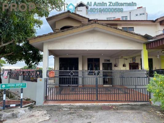 Semi-Detached For Sale in Taman Permatang Sintuk, Penaga Freehold Unfurnished 4R/3B 470k
