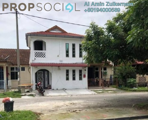 Terrace For Sale in Taman Serai Wangi 2, Padang Serai Freehold Semi Furnished 9R/8B 350k
