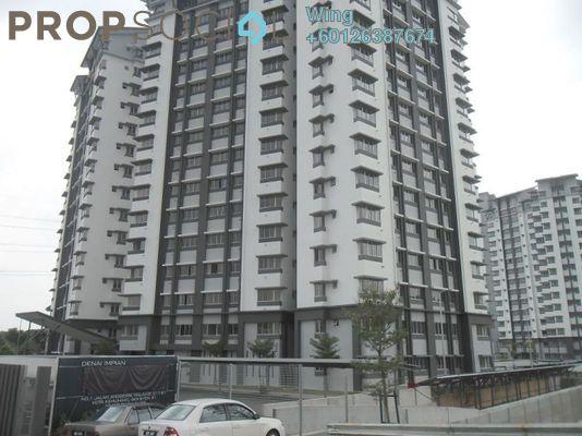 Condominium For Rent in Lagoon Residences, Kota Kemuning Freehold Fully Furnished 2R/2B 1.5k