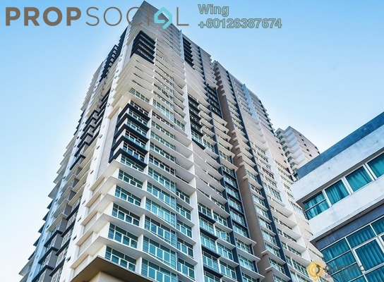 Condominium For Rent in Boulevard Serviced Apartment, Jalan Ipoh Freehold Semi Furnished 3R/2B 1.6k