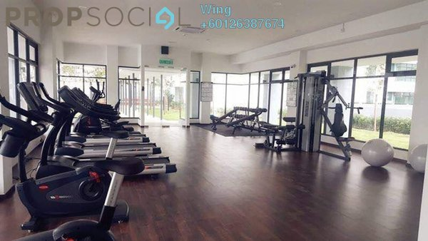 Serviced Residence For Rent in Fortune Perdana Lakeside, Kepong Freehold Semi Furnished 3R/2B 1.4k