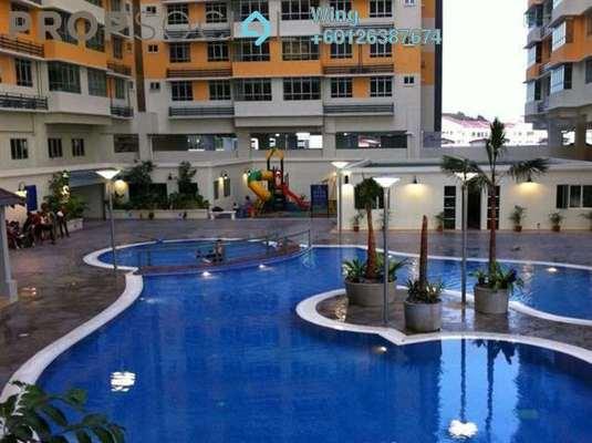 Condominium For Rent in Mutiara Anggerik, Shah Alam Freehold Semi Furnished 4R/2B 1.3k