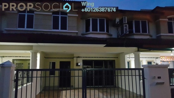 Terrace For Rent in Taman Sri Putra Mas, Sungai Buloh Freehold Semi Furnished 4R/3B 1.15k