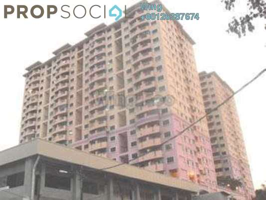 Apartment For Sale in Sri Gotong Apartment, Selayang  Fully Furnished 3R/2B 290k