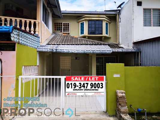 Terrace For Sale in Pandan Perdana, Pandan Indah Leasehold Unfurnished 4R/3B 580k