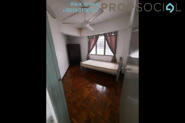 Apartment For Rent in Indah Mas Apartment, Bandar Sri Permaisuri Freehold Semi Furnished 3R/1B 1.2k