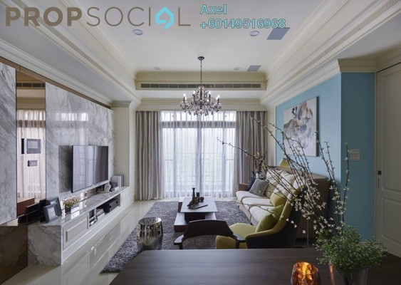 Condominium For Sale in Lot 10, Bukit Bintang Freehold Semi Furnished 4R/3B 599k