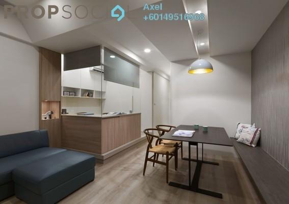 Condominium For Sale in Jalan Bangsar, Kuala Lumpur Freehold Semi Furnished 4R/3B 629k