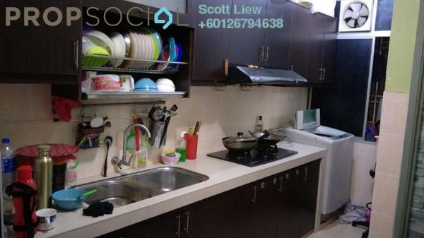 Apartment For Sale in Desa Ria Apartment, Balakong Freehold Semi Furnished 3R/2B 295k