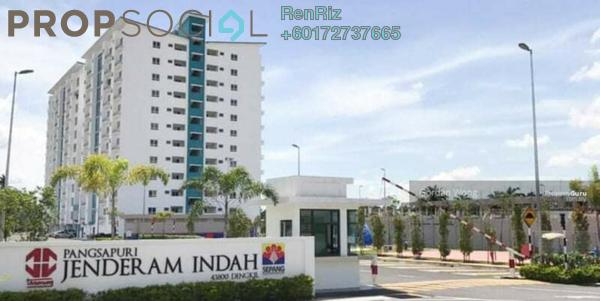 Apartment For Sale in Pangsapuri Jenderam Indah, Dengkil Freehold Semi Furnished 3R/2B 260k