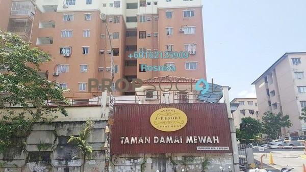 Apartment For Sale in Damai Mewah B Apartment, Kajang Freehold Unfurnished 3R/2B 260k