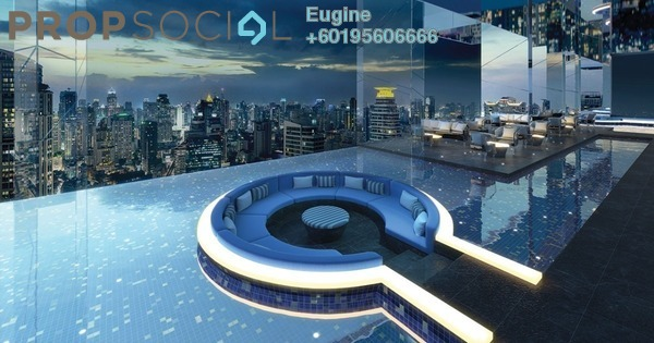 Condominium For Sale in KL Traders Square, Kuala Lumpur Freehold Fully Furnished 3R/2B 355k