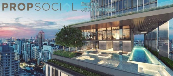 Condominium For Sale in KL Traders Square, Kuala Lumpur Freehold Fully Furnished 3R/2B 363k