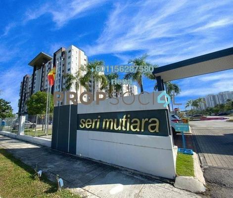 Apartment For Sale in Seri Mutiara, Setia Alam Freehold Unfurnished 3R/2B 320k