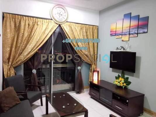 Condominium For Sale in Langat Jaya, Batu 9 Cheras Freehold Fully Furnished 3R/2B 310k