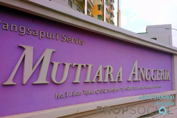 Condominium For Sale in Mutiara Anggerik, Shah Alam Leasehold Semi Furnished 3R/2B 355k
